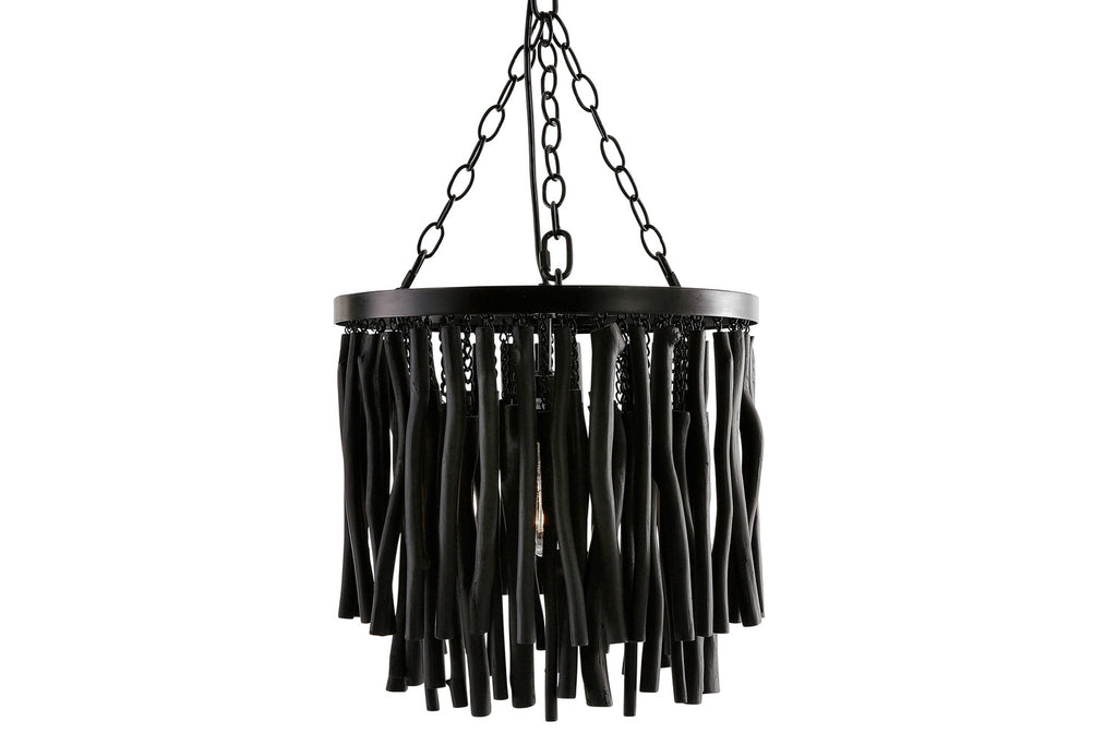 Tambora Stick Hanging Lamp Black