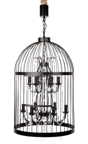 Macaw Chandelier 12 Arm