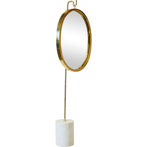 Bevington Vintage Cheval Mirror Cream