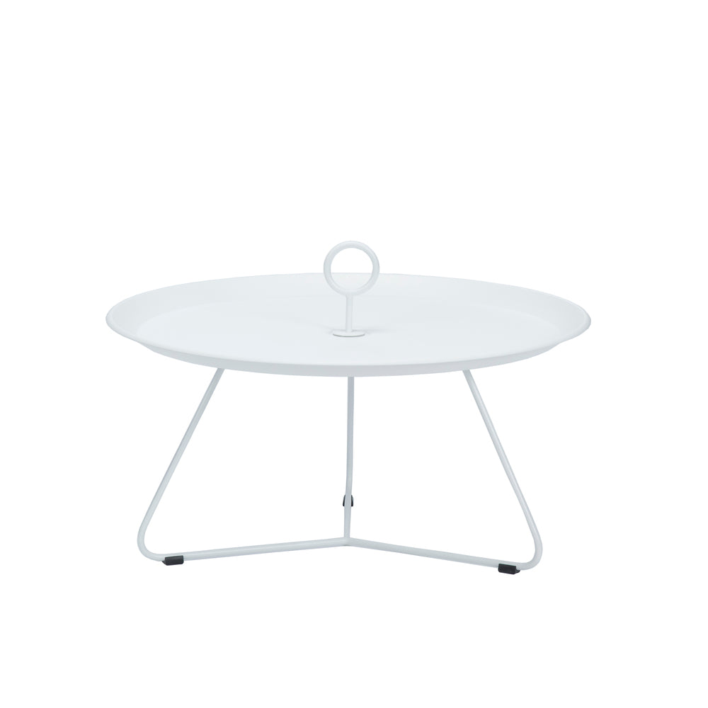 Eyelet Tray Table White Large