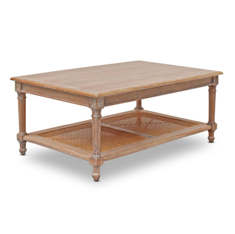 St Barts Coffee Table Weathered Oak