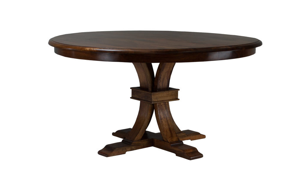 Morton Dining Table Dark Mango Teak
