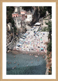 Furore Arial Photographic Print with Frame