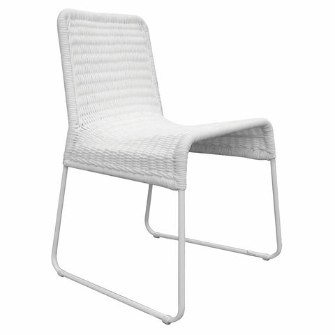 Gonubie Outdoor Dining Chair White