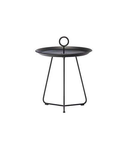 Eyelet Tray Table Black Large