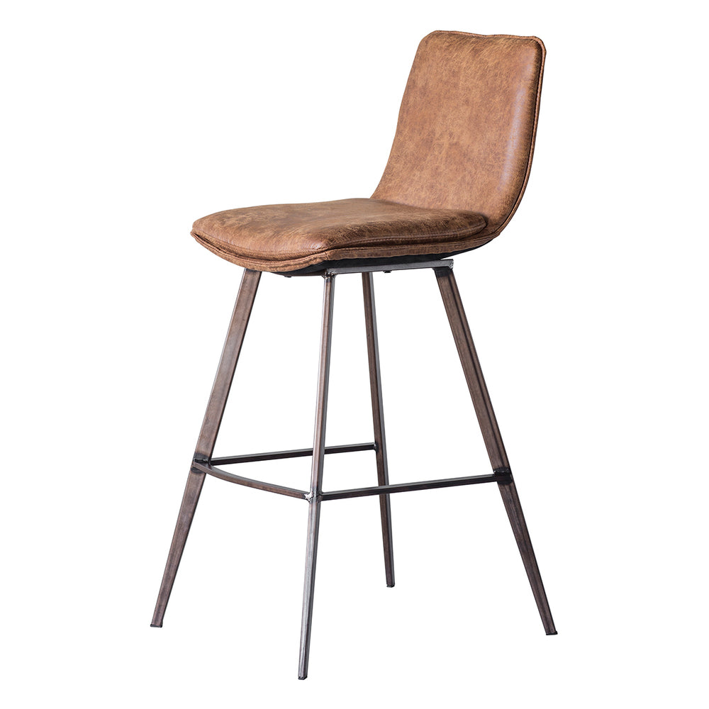 Cassie Bar Stool Tan 2/Pack