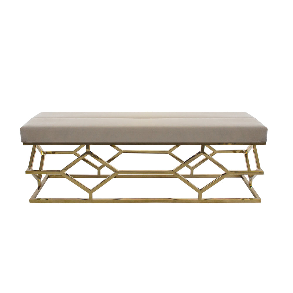 Digby Ottoman/Bench Taupe