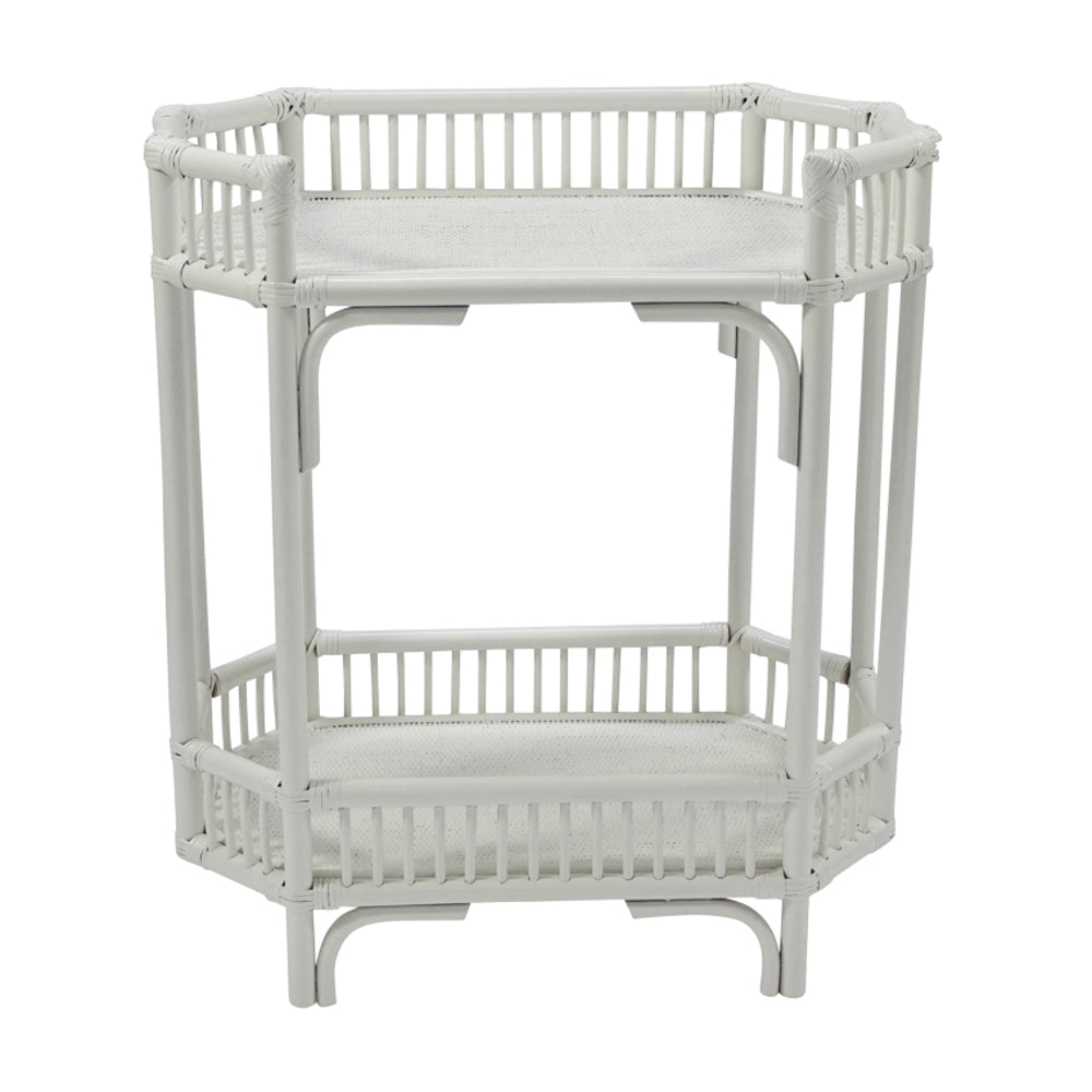 Crawford Bar Caddy White | INTERIORS ONLINE
