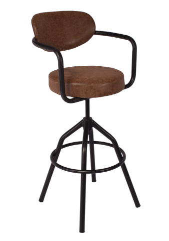 Frederick Adjustable Bar Stool