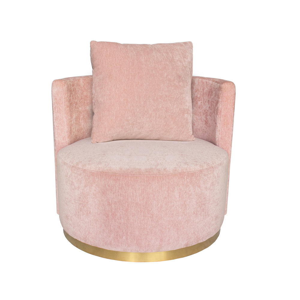 Roma Love Seat Quartz with Gold Base