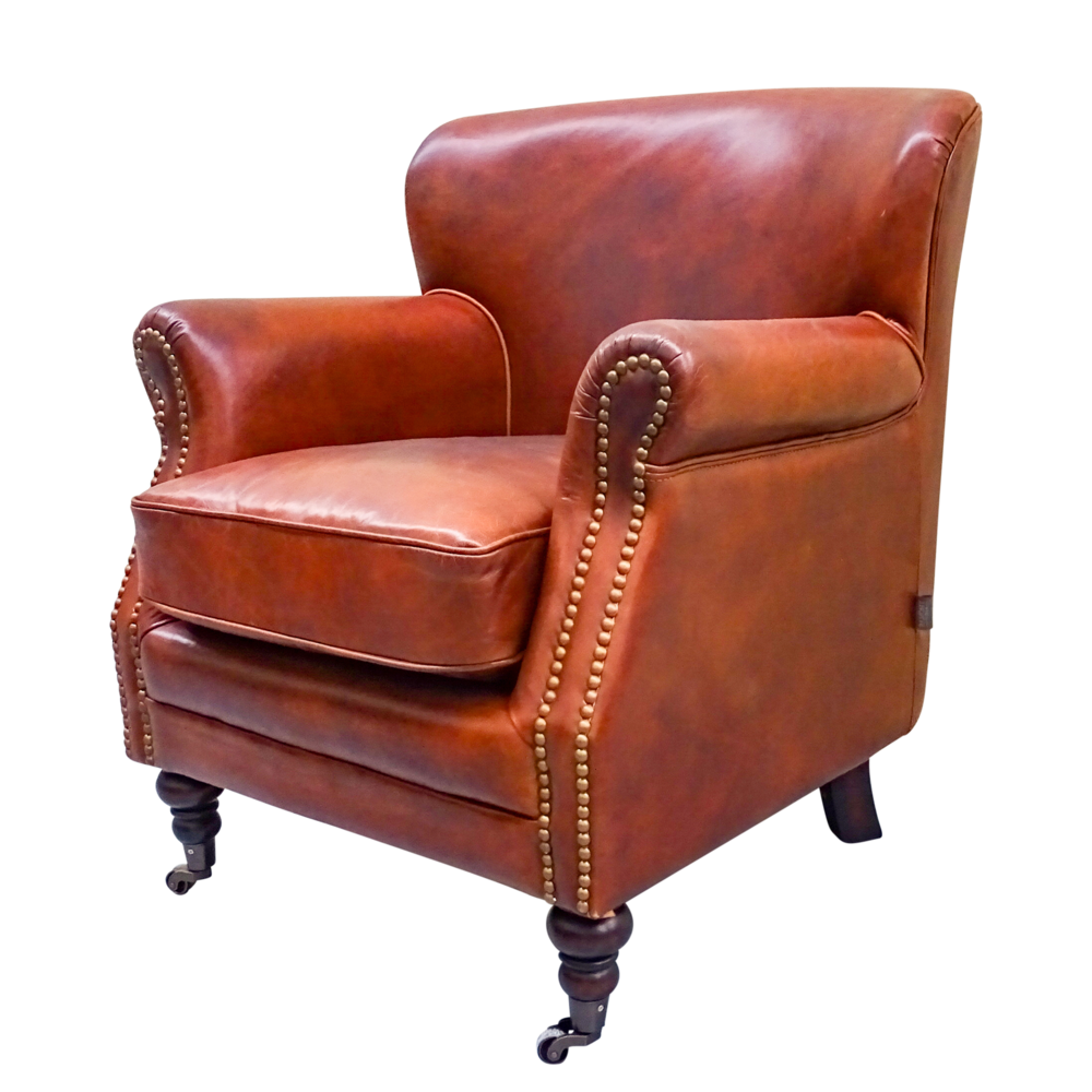 Chadwick Vintage Leather Armchair