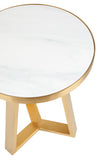 Dwell Side Table Gold Medium