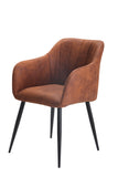 Gallo Arm Chair Chamois Copper