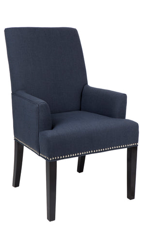 Bentley Armchair Diamond Navy