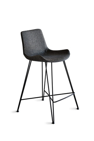 Frankie Counter Stool Dark Grey