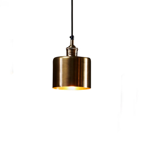 Lugano Pendant Antique Brass Small