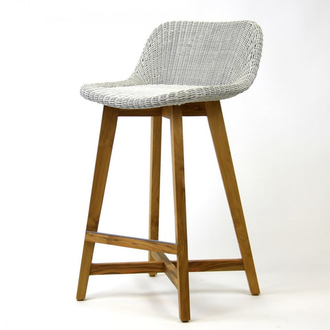 Plantation Bar Stool with Back