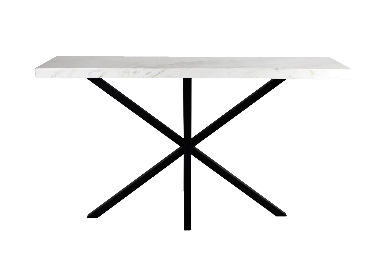 Axis Console White Marble