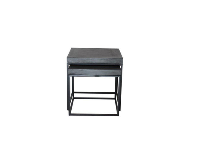 Peninsula Nest Tables Square Grey