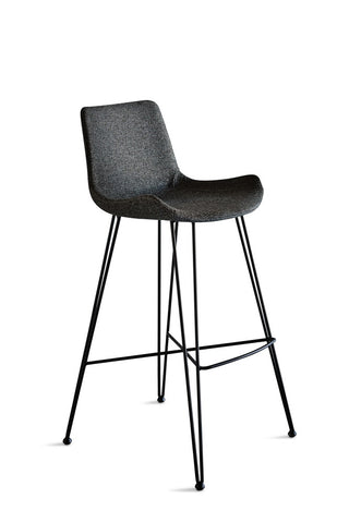 Frankie Bar Stool Dark Grey