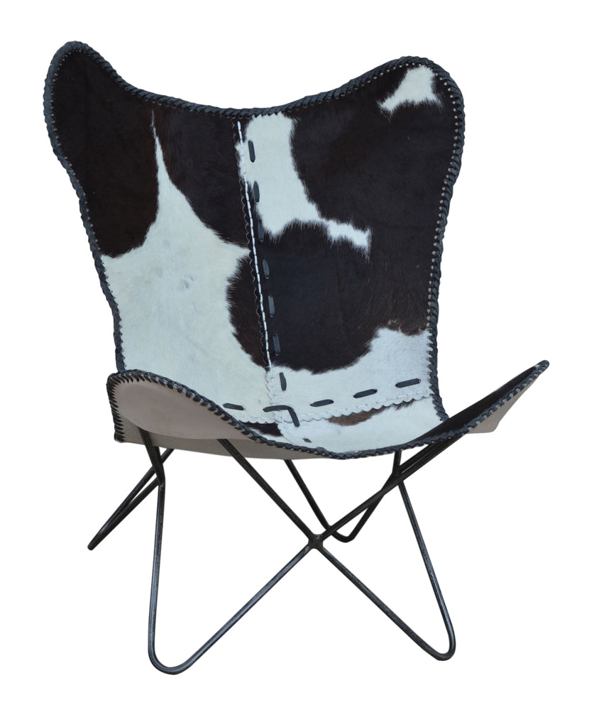 Cowhide Butterfly Chair Black; Cowhide Butterfly Chair Black ...