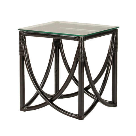 Kahalu Side Table Black