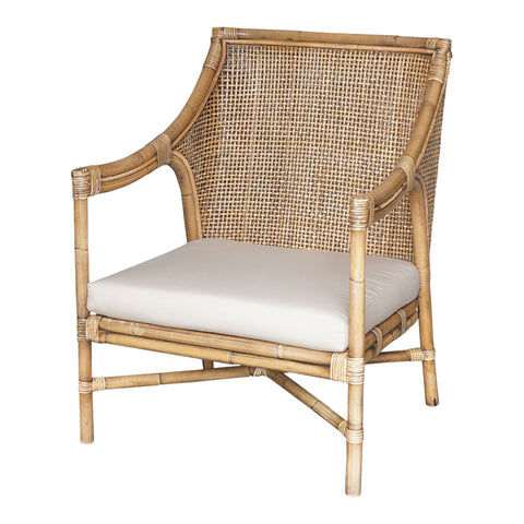 Hunter Rattan Barstool