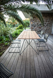 Click Outdoor Dining Chair Petrol