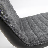 Strass Dining Chair Dark Grey