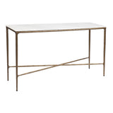 Preston Console Medium Brass