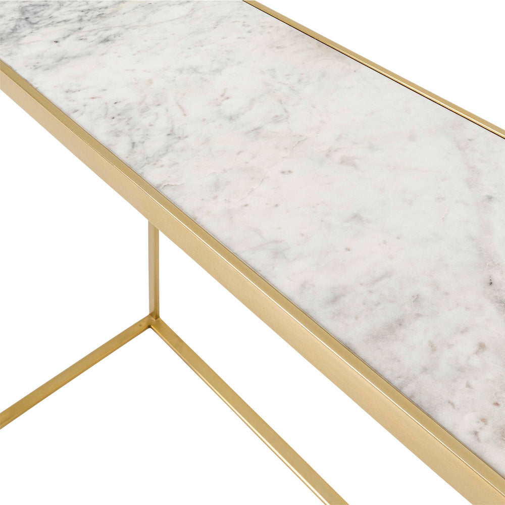 Sven Console with Marble Top