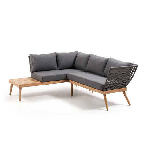 Kingston Outdoor 2 Seat Sofa Mocca with Cushion Options