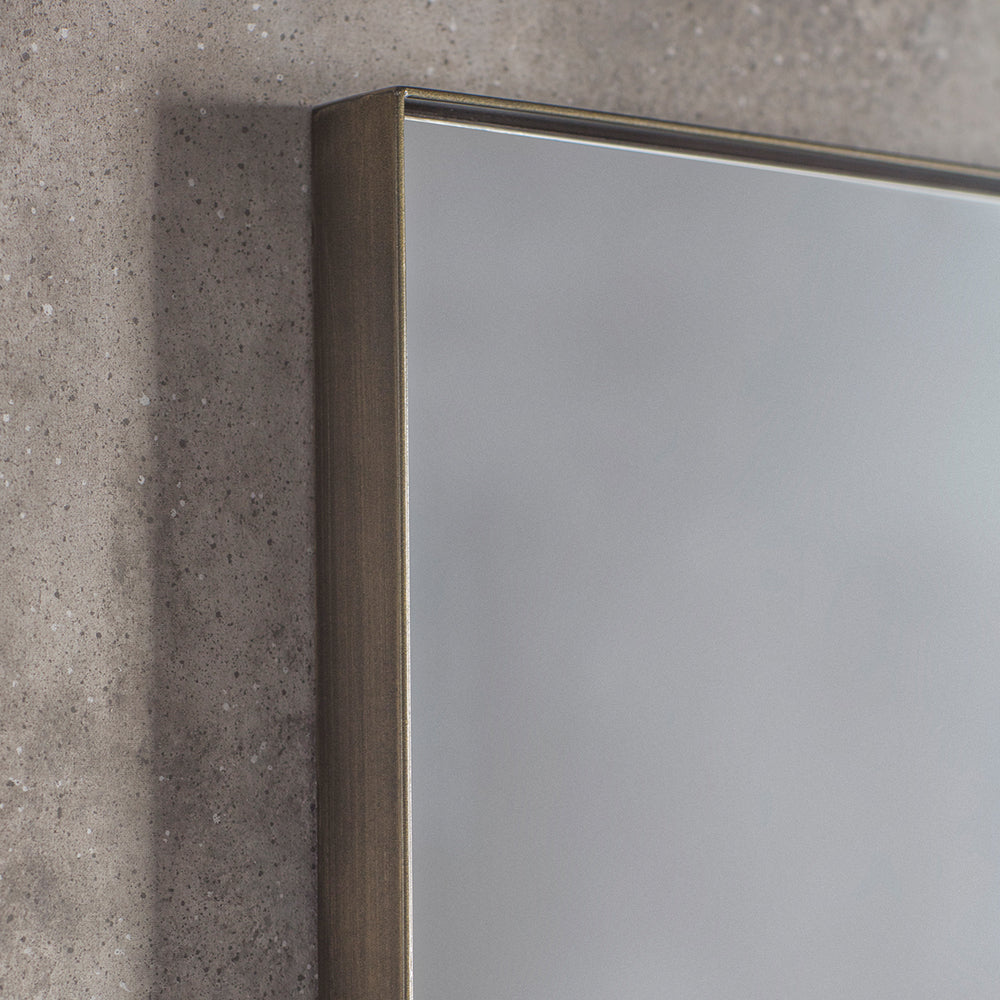 Houston Mirror Bronze