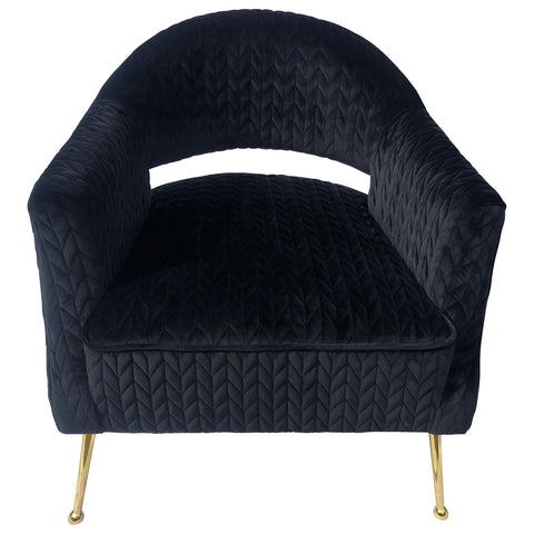 Trudeau Chair Black