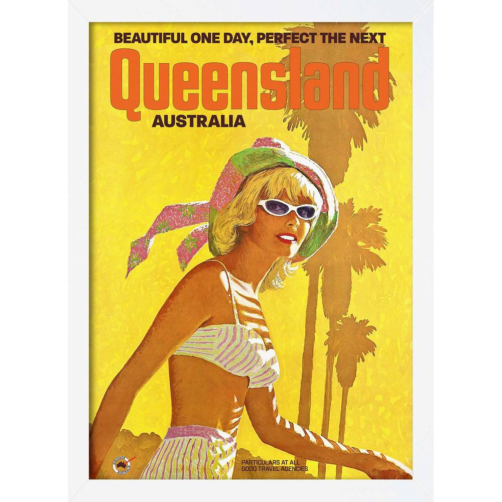 Beautiful One Day Retro Framed Poster