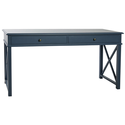 Manto Large Bedside Table Blue