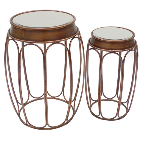 Cuban Side Table Set/2