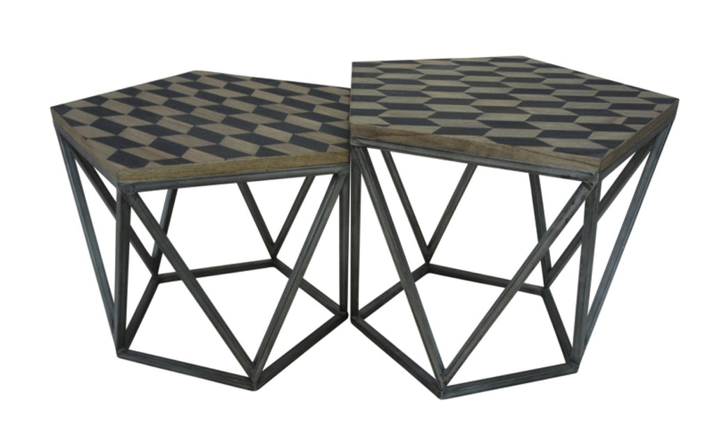 Domino Side Tables Set/2