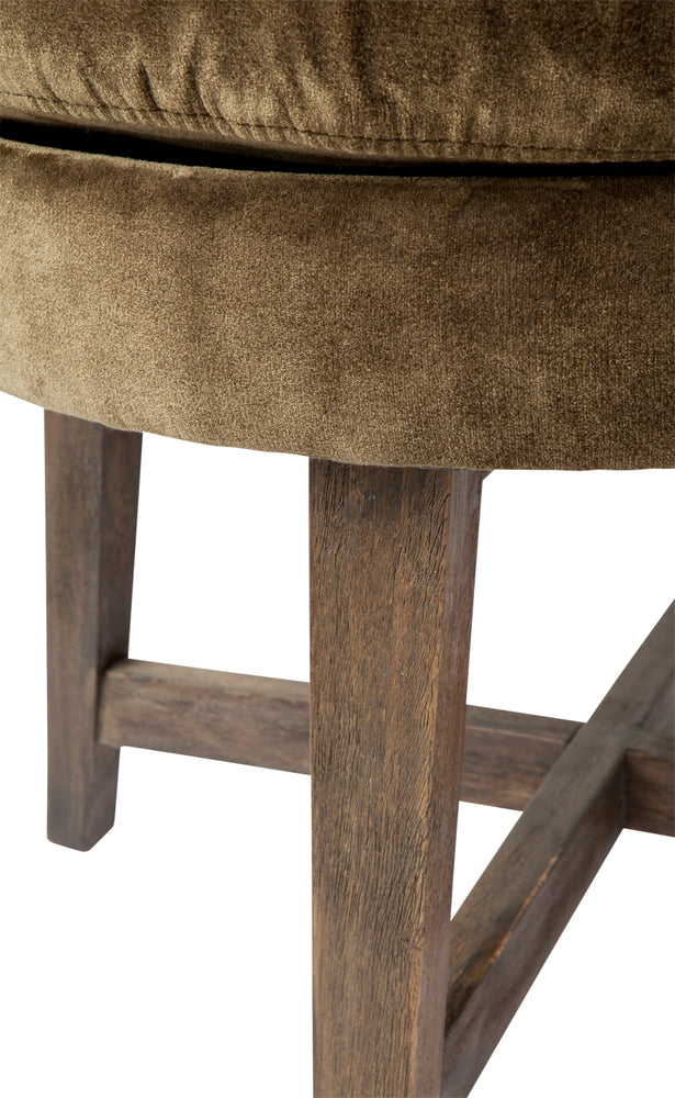 Harper Low Stool Moss