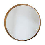 Avenue Round Mirror Gold