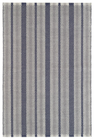Villa Modern Herringbone Rug Pink and White