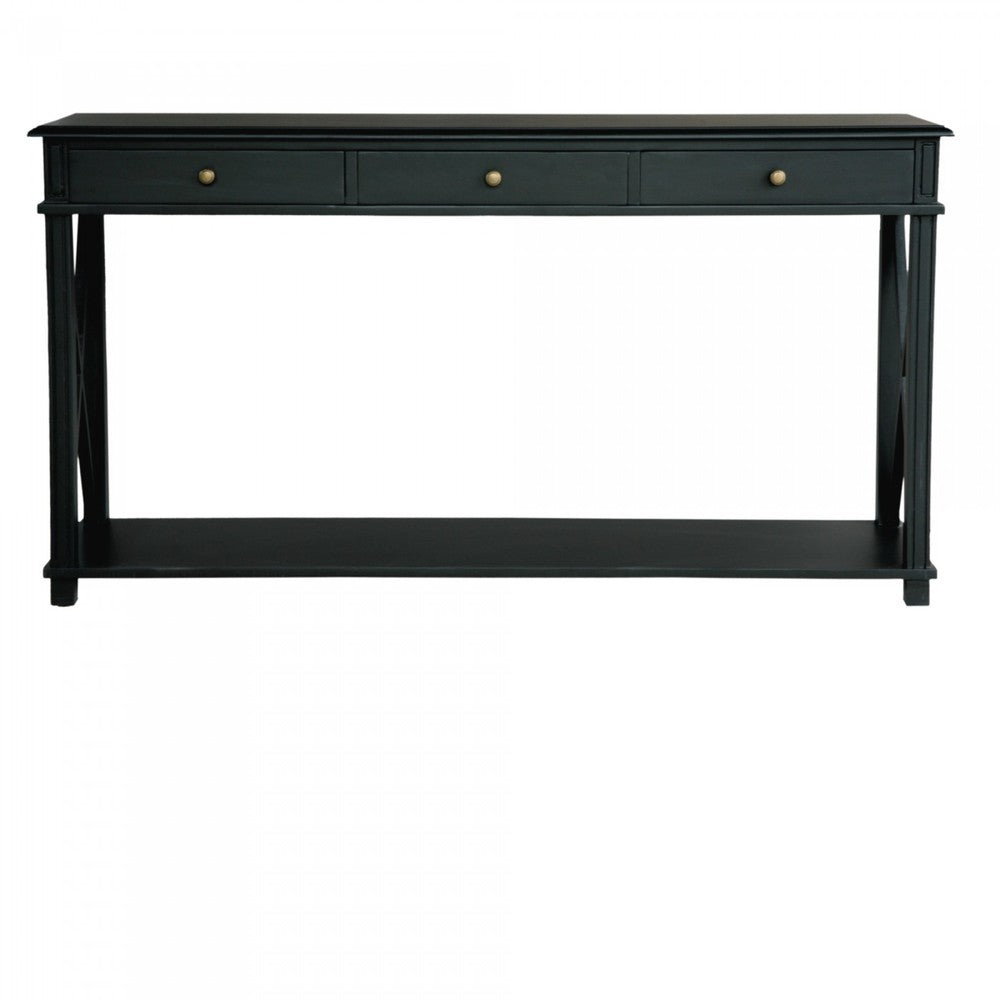 Manto Console Table Black Interiors Online