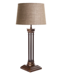Hudson Table Lamp Florentine Bronze