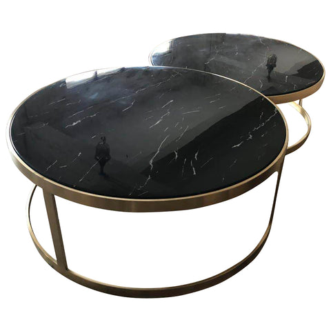 Monique Coffee Table Set/2 Black