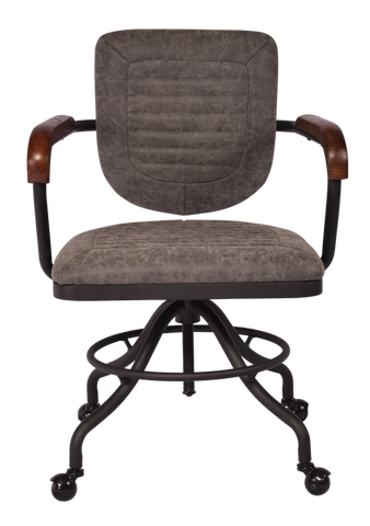 Martin Desk Chair Vintage Grey