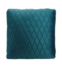 Peacock Coco Velvet Cushion