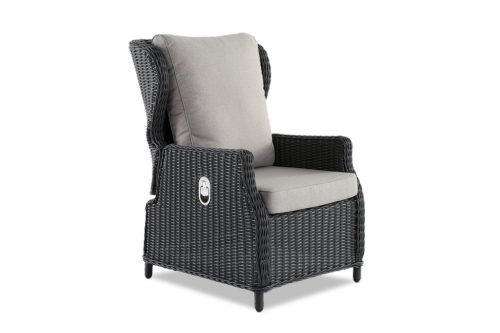 Picture of: Aegean Outdoor Reclining Chair Anthracite Interiors Online