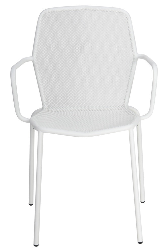 Visby Outdoor Armchair White