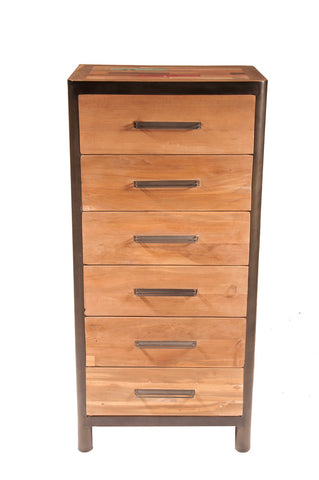 Ocean Tallboy 6 Drawers