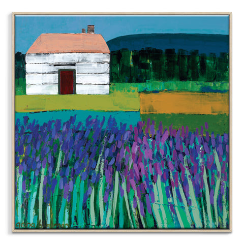 Morwell Framed Canvas Print